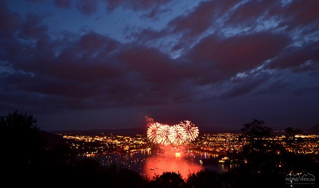 Fête du Lac d'Annecy : les photos du feu d'artifice 2012 !