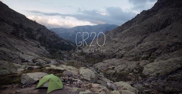 [Vidéo] Timelapse sur le sentier du GR20