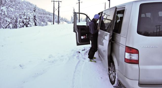 1ère sortie ski de rando à l'Etale (La CLusaz)