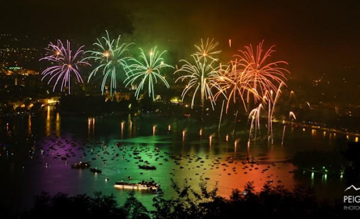 Fête du Lac d'Annecy : les 10 plus belles photos du feu d'artifice 2013 !