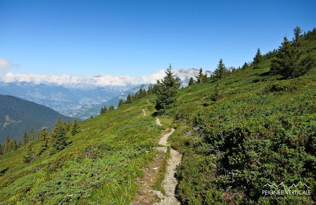Le Brévent (2525m), via l'Aiguillette des Houches et le refuge de Bel Lachat