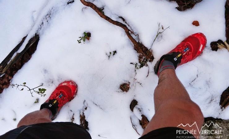 Premières neiges au Parmelan !