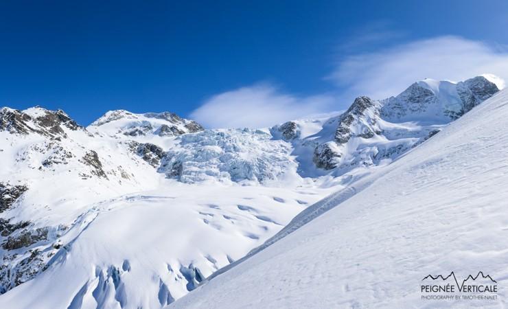 Pointe de Bricola (3657m – Valais Suisse) : par le glacier et la cabane de Moiry