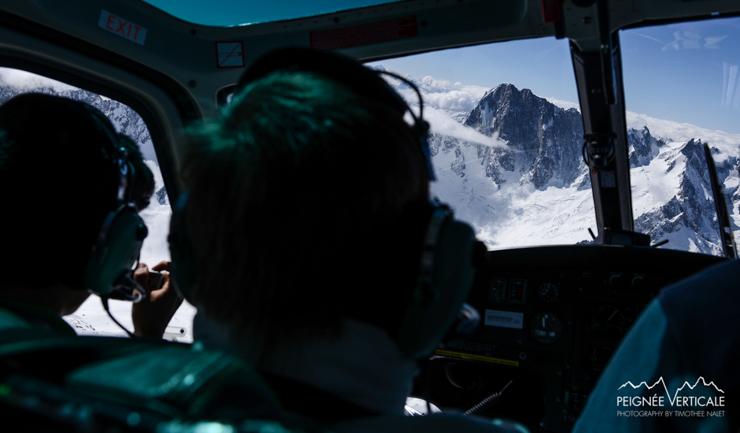 Un tour du Massif du Mont-Blanc…en hélicoptère !