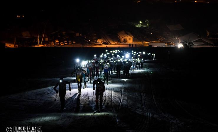 Ski-alpinisme : les photos de la Crève-Coeur 2015 à Combloux