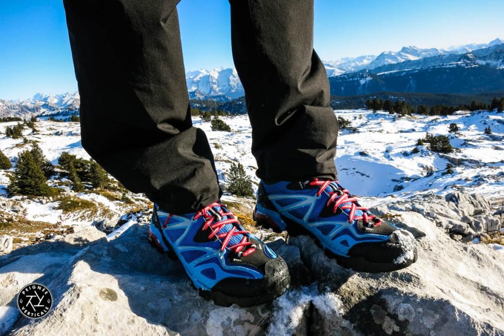 Chaussures de randonnée Merrell Capra Sport Mid Gore-Tex