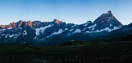 Breithorn (4164m) depuis Breuil-Cervinia