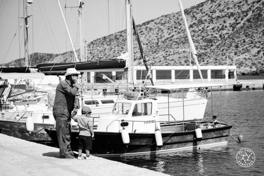 Le port de Kamares