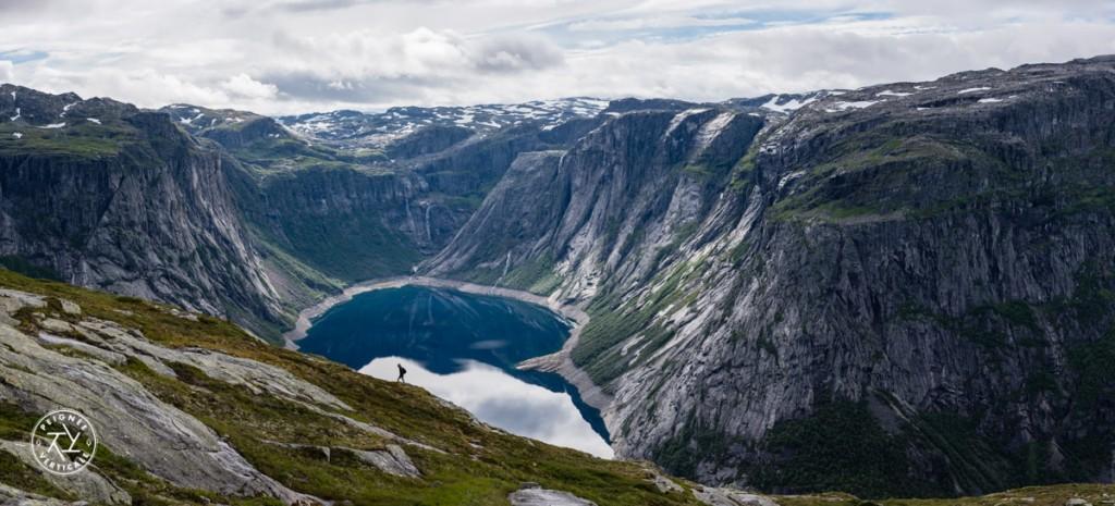 Le lac Ringedalsvatnet, en Norvège