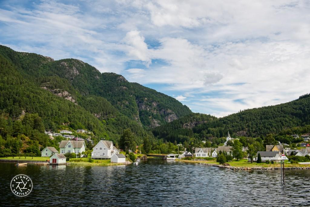 Le village de Jordal, en Norvège
