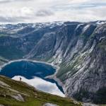 Trolltunga en Norvège