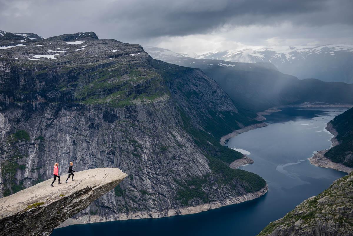 Trolltunga, Hardangerfjord
