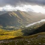 Coucher de soleil sur Kinlochleven - Highlands - Ecosse