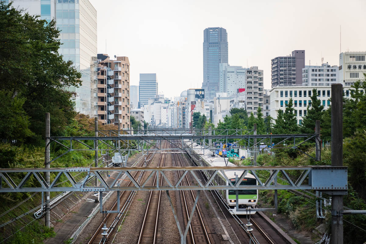 Tokyo - Train de banlieue