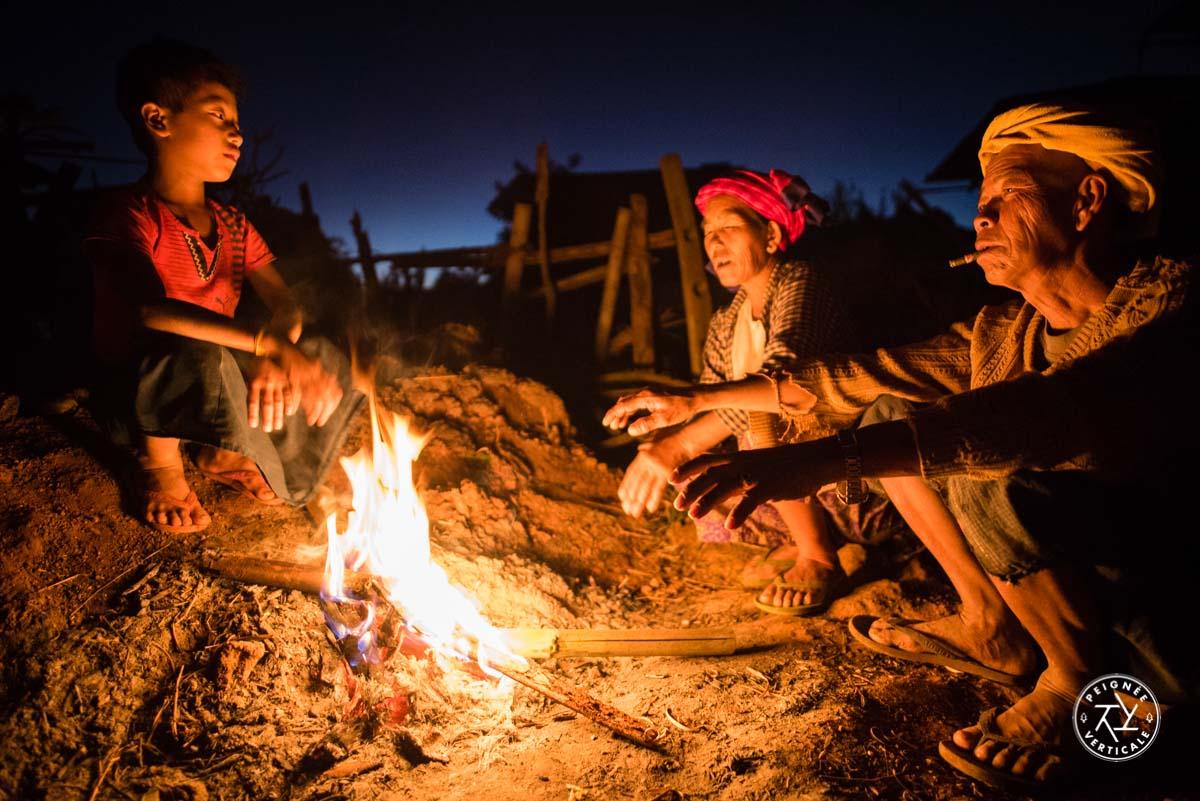 Nuit chez l'habitant pendant le trek de Kalaw au Lac Inle