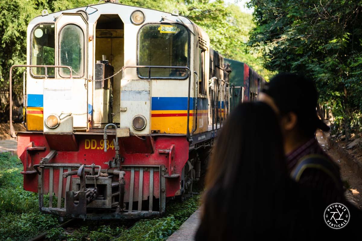 Circular train Yangon
