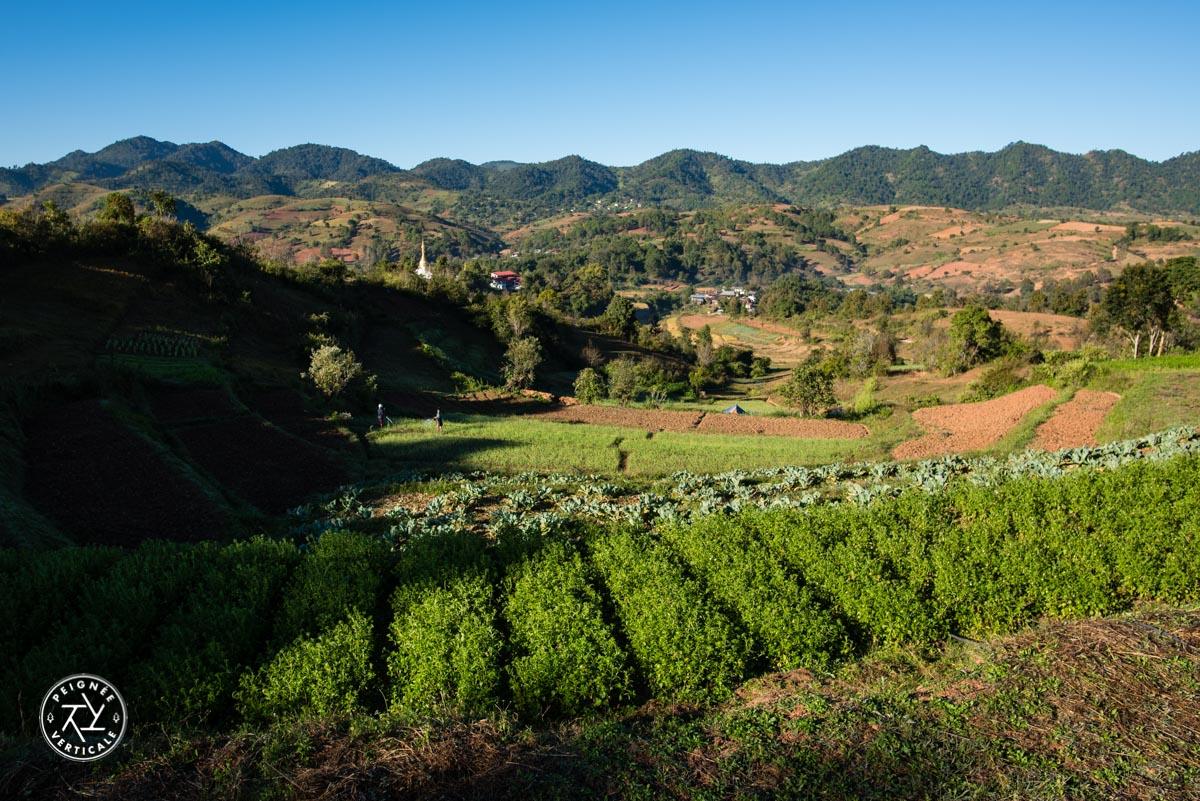 Trek en Birmanie