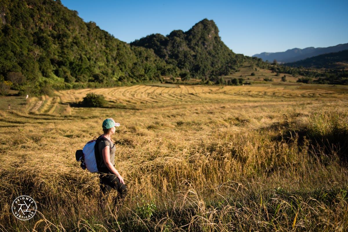 Randonner en Birmanie