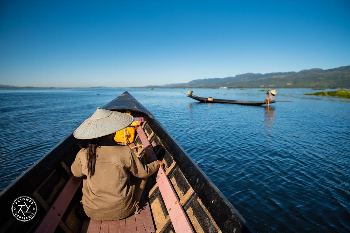 Le Lac Inle en pirogue