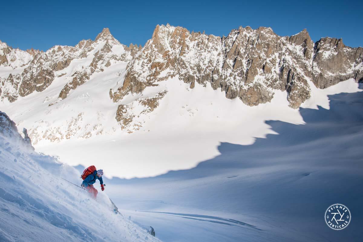 Col des Cristaux à ski