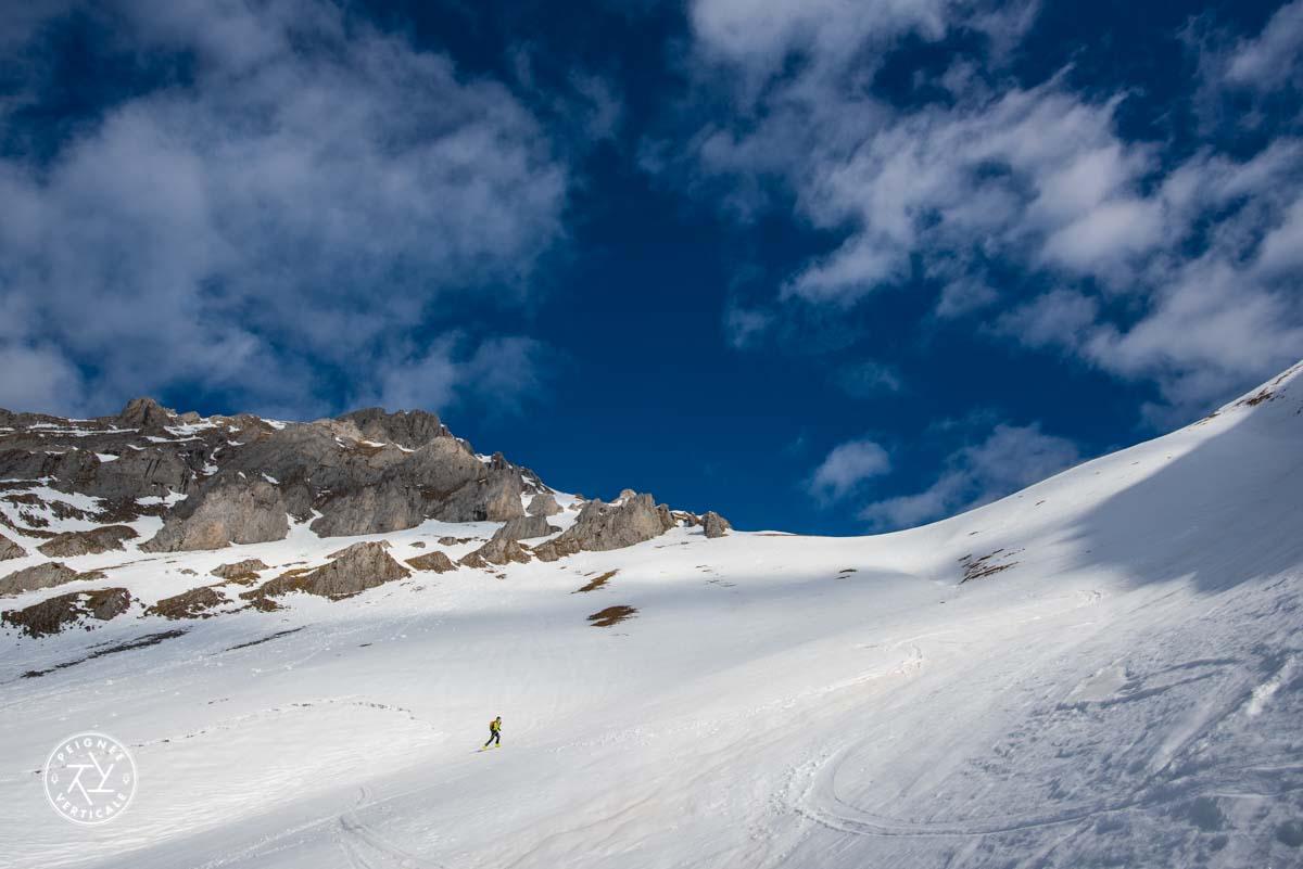 Randonnée à ski dans les Bauges