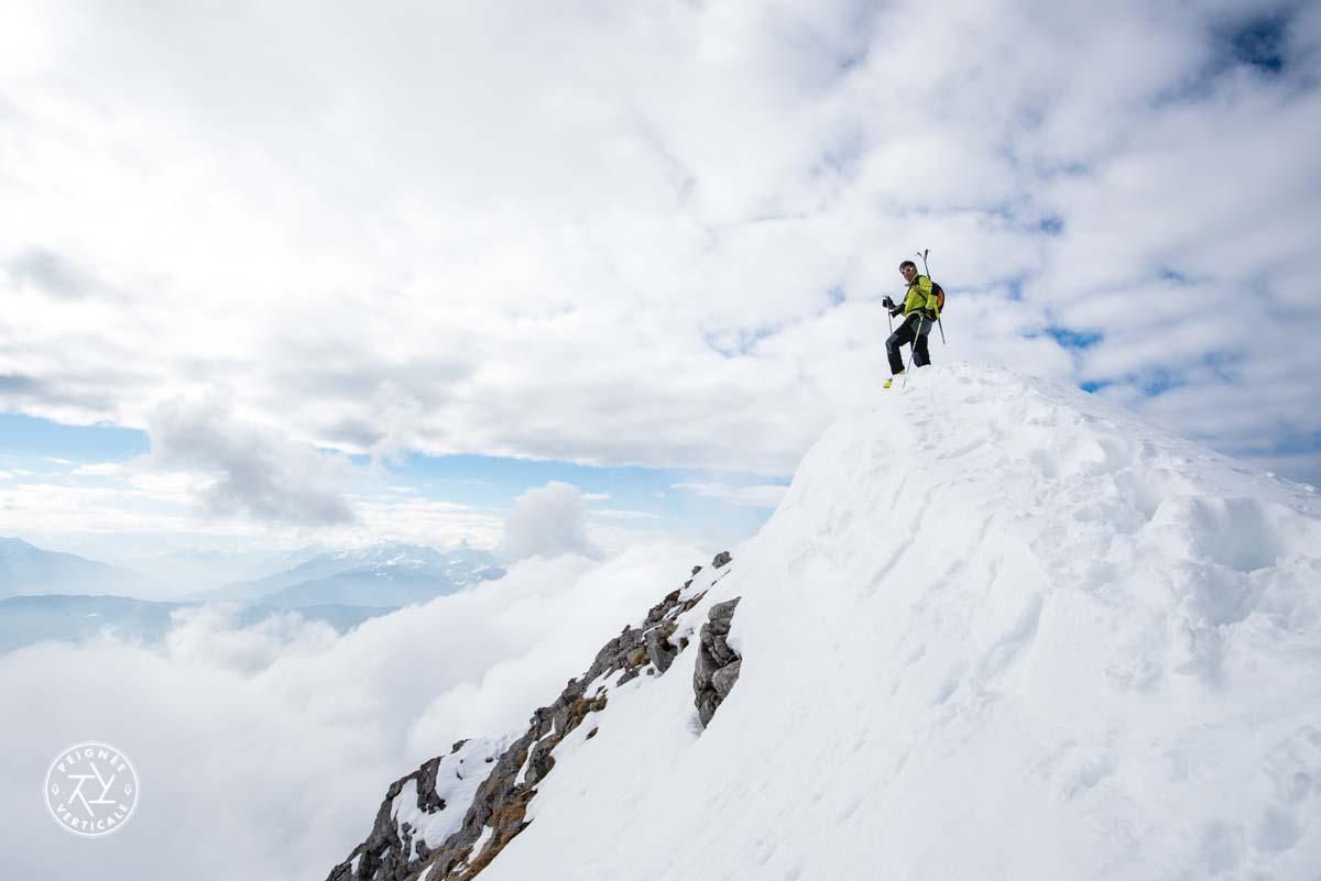 Randonnée à ski dans les Bauges - Mont Pécloz