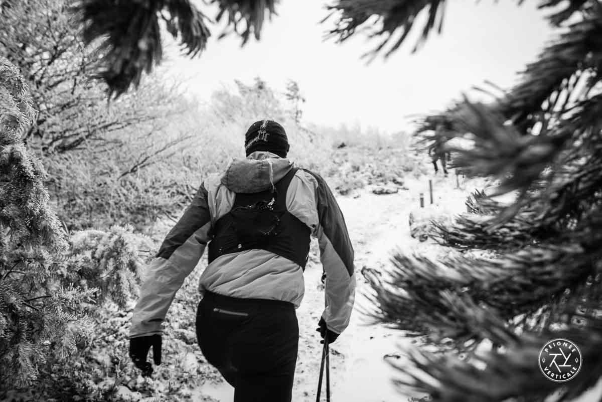 Courir en hiver en Auvergne