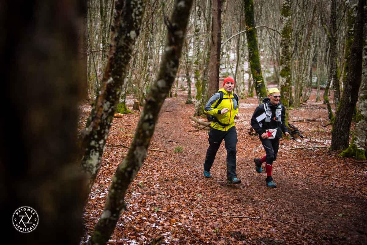 Trail en forêt