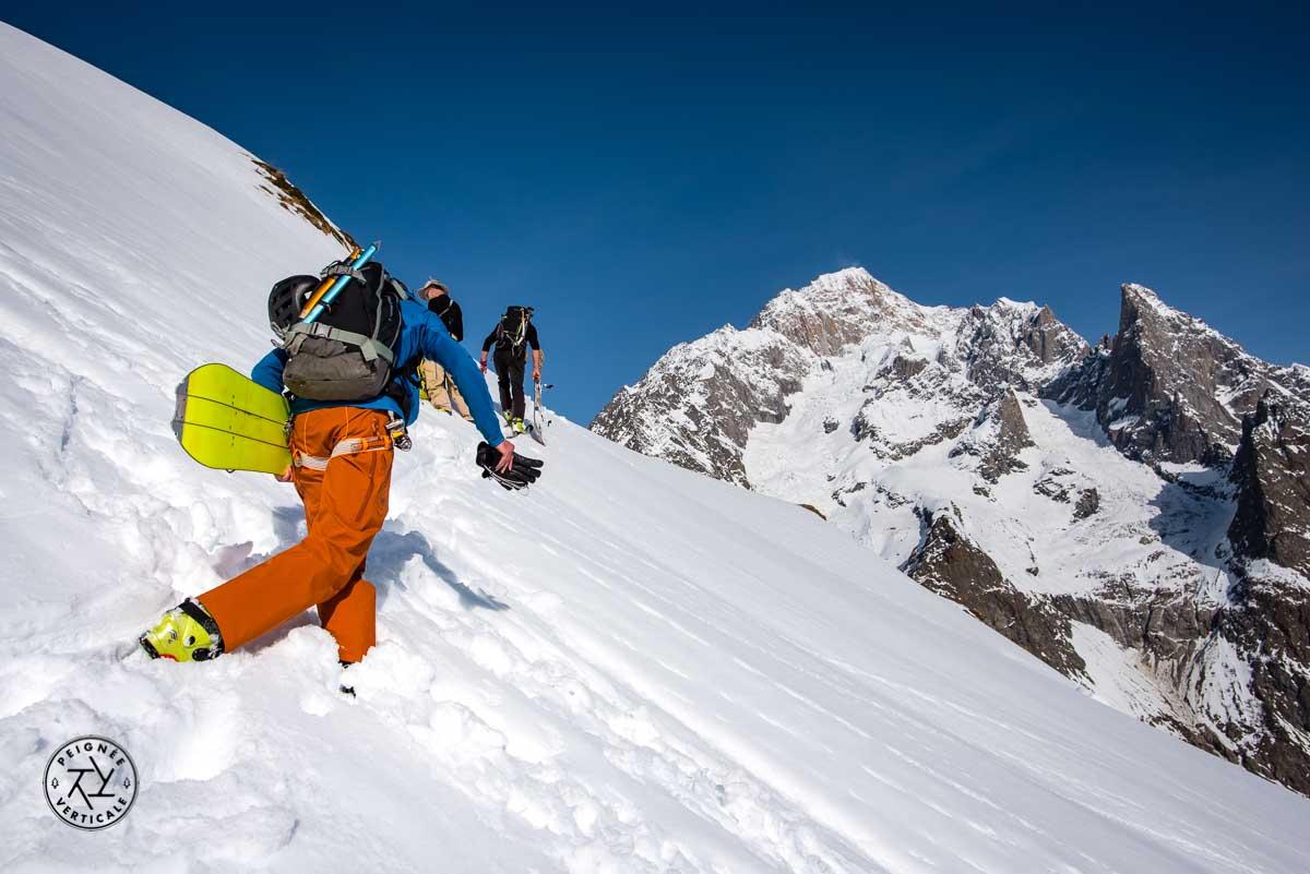 Ski de randonnée et Mont Blanc de Courmayeur