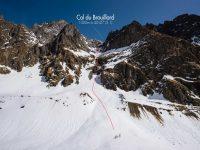 Col du Brouillard (3288m), couloir Sud Ouest (voie du 1894)