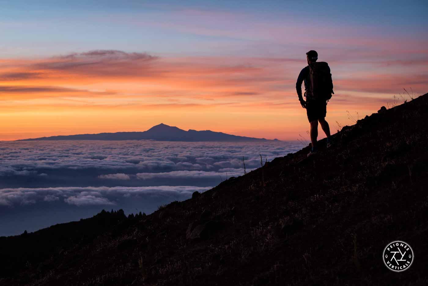 Lever de soleil sur Tenerife