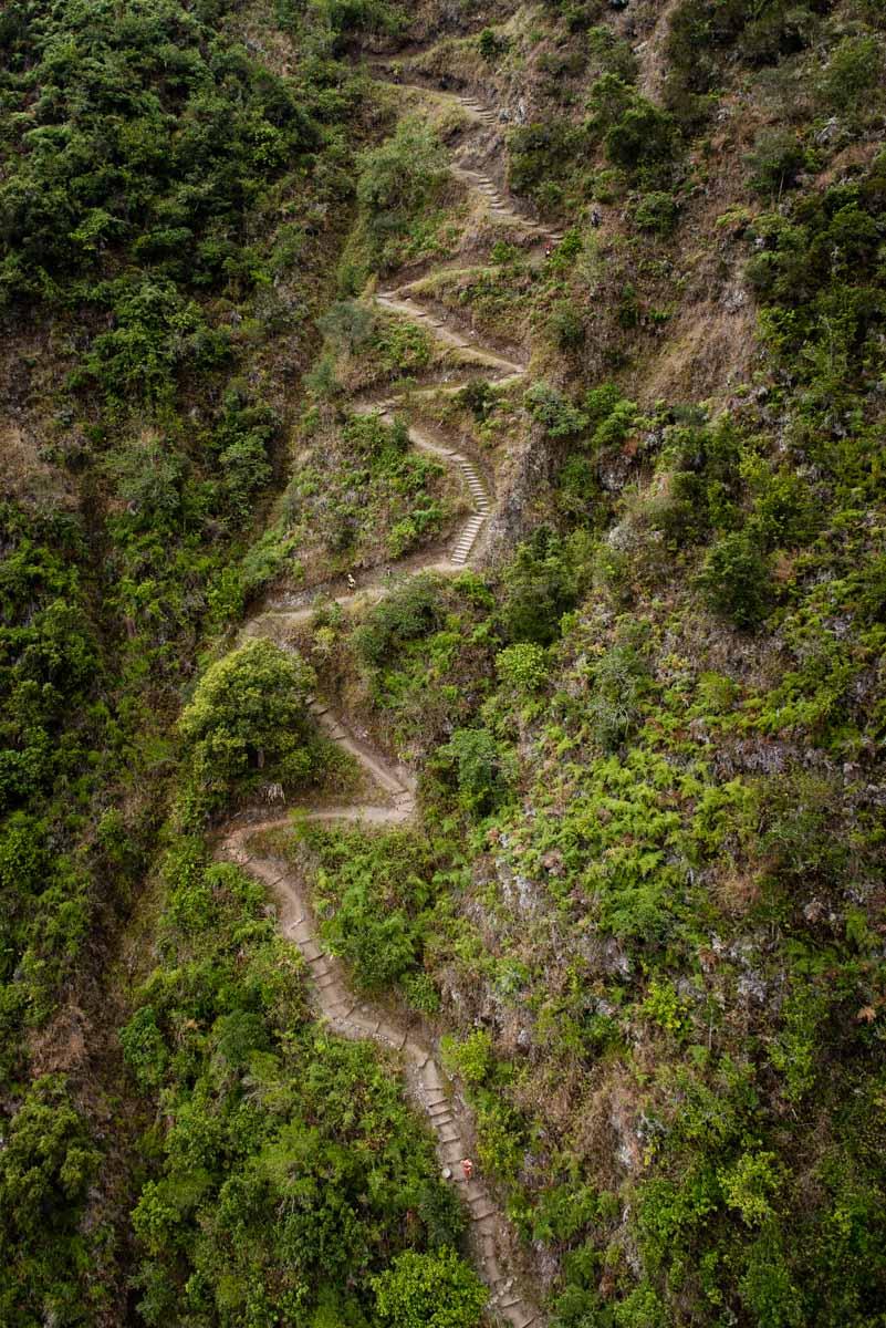 Sentier ile de la Reunion