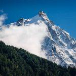 Neige en été - Aiguille du Midi