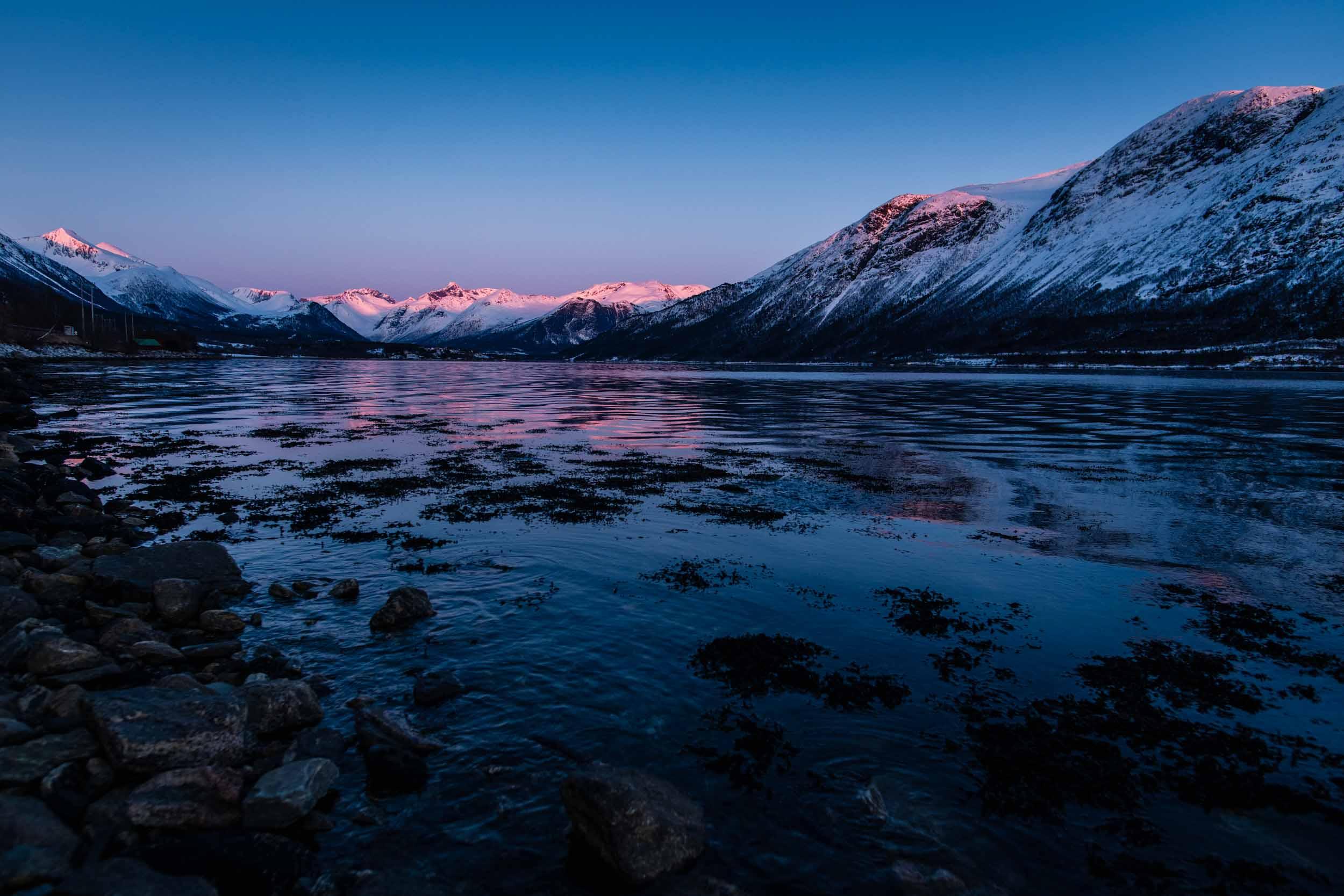 Skier dans les fjords : une semaine dans le Romsdalen