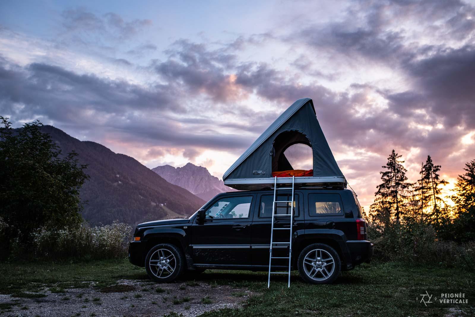 Camping sauvage Slovénie