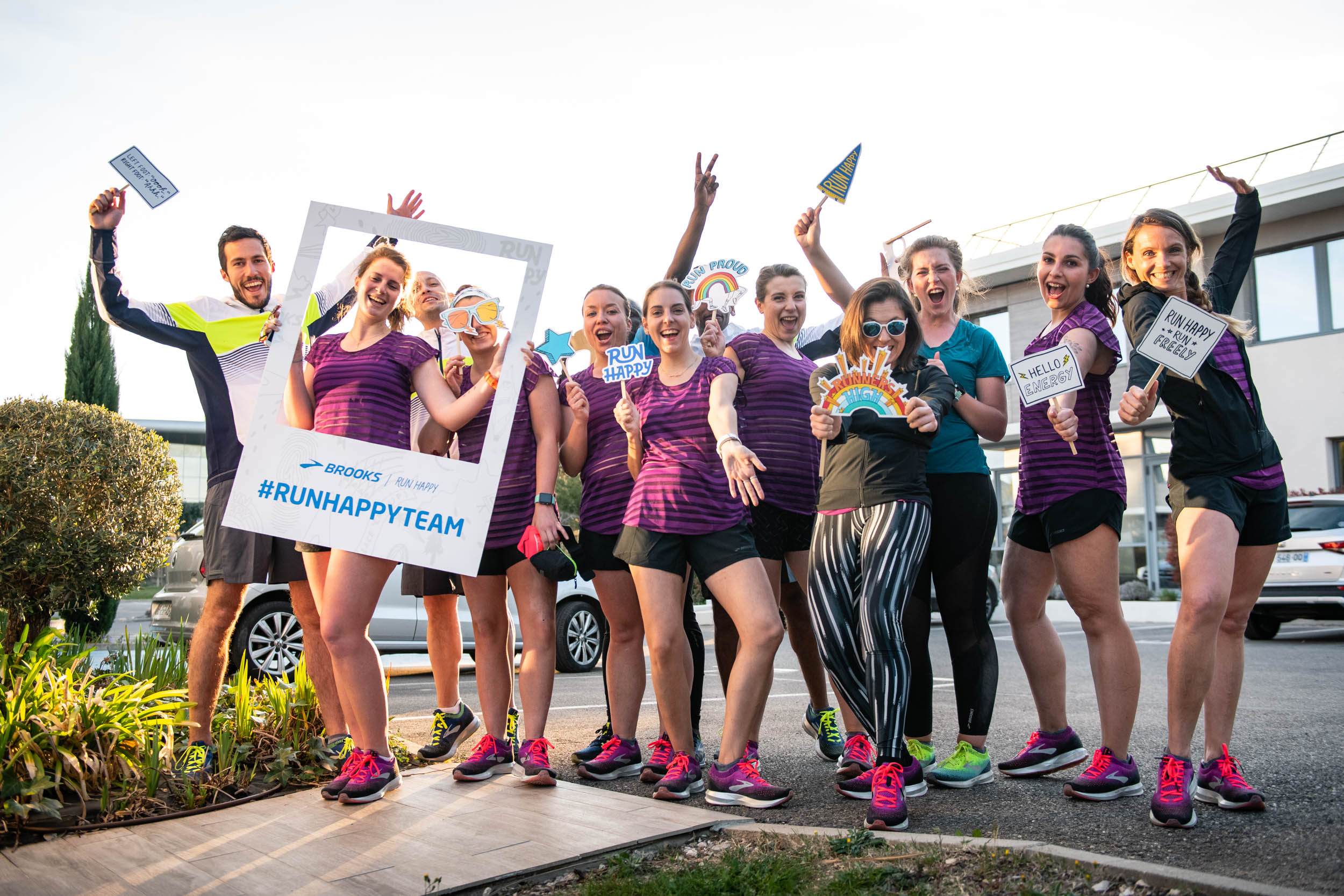 Run Happy Team – Kick Off