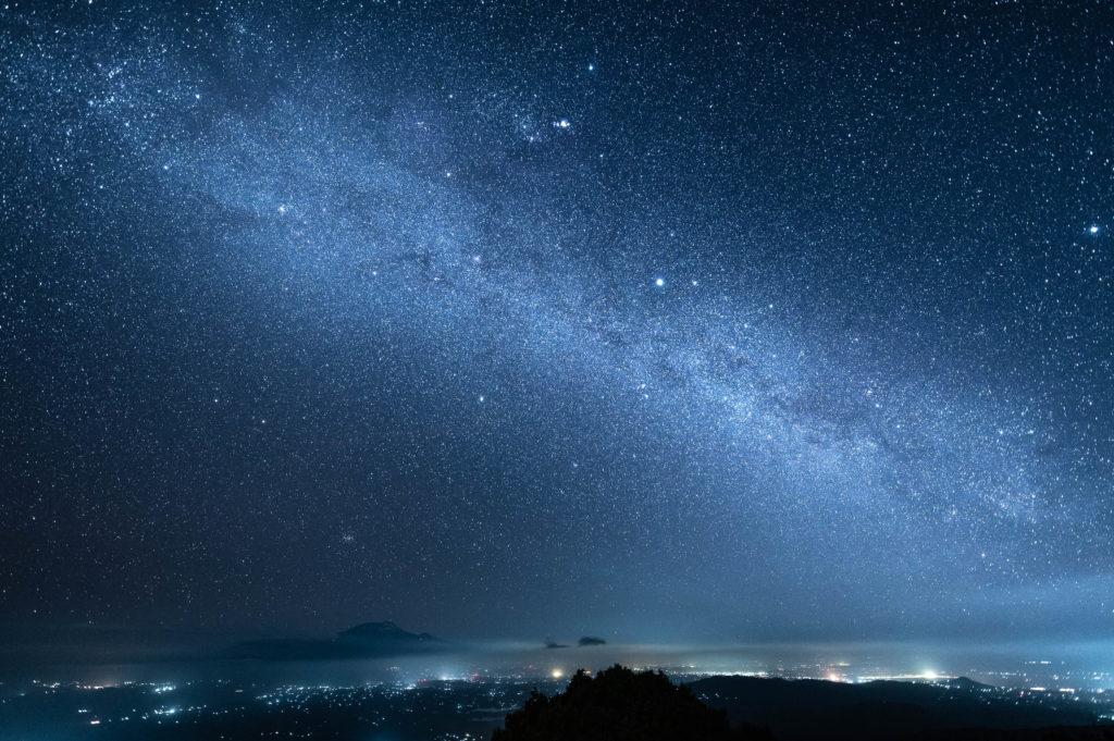 Mont Méru, Tanzanie Ciel étoilé