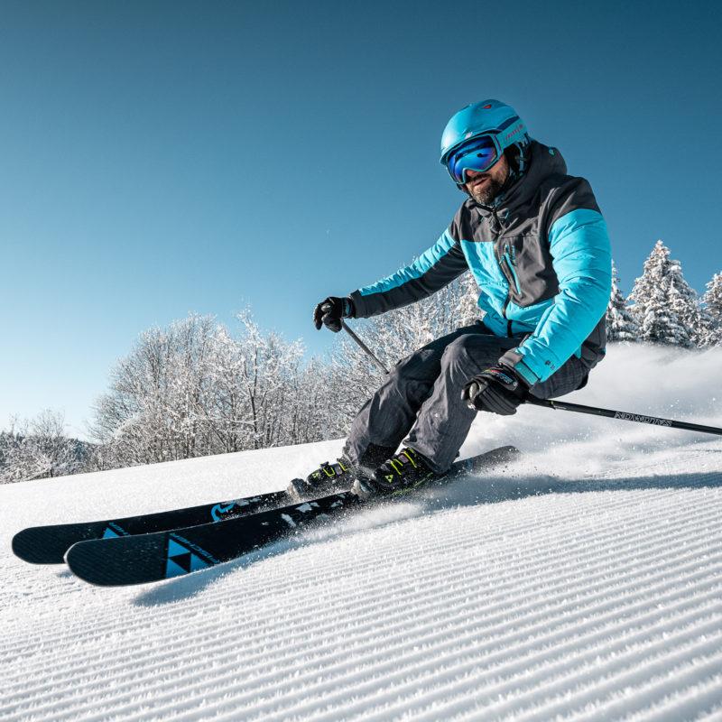 Ski alpin à la Feclaz