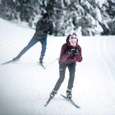Skis de fond à la Feclaz